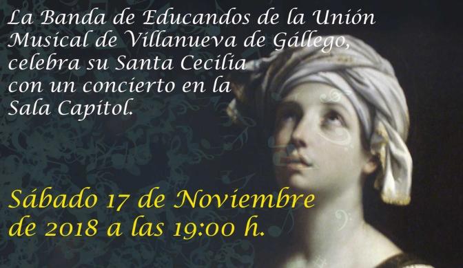 CONCIERTO BANDA DE EDUCANDOS DE LA U.M.V.G