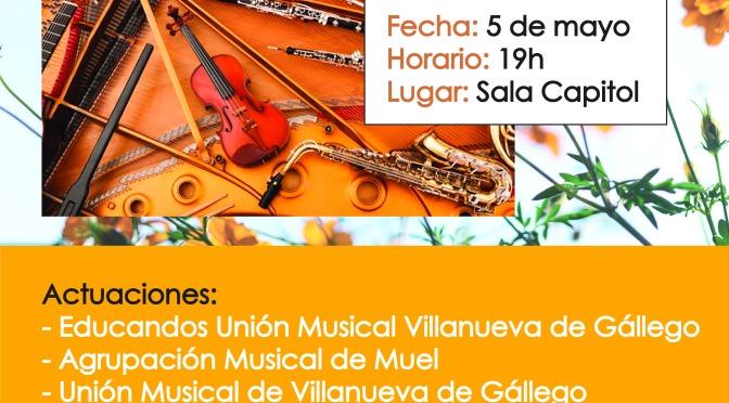 XXIII FESTIVAL BANDAS DE MÚSICA 05 MAYO 19:00 H
